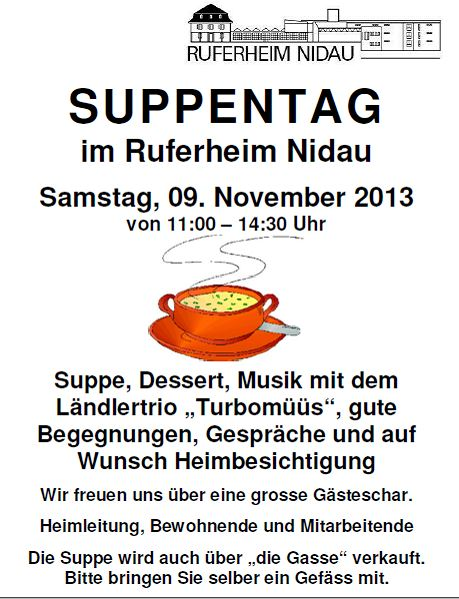 Suppentag Plakat